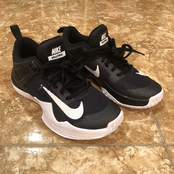 designer fashion 2a950 b827f Air Zoom Hyperace Volleyball Shoes Black White
